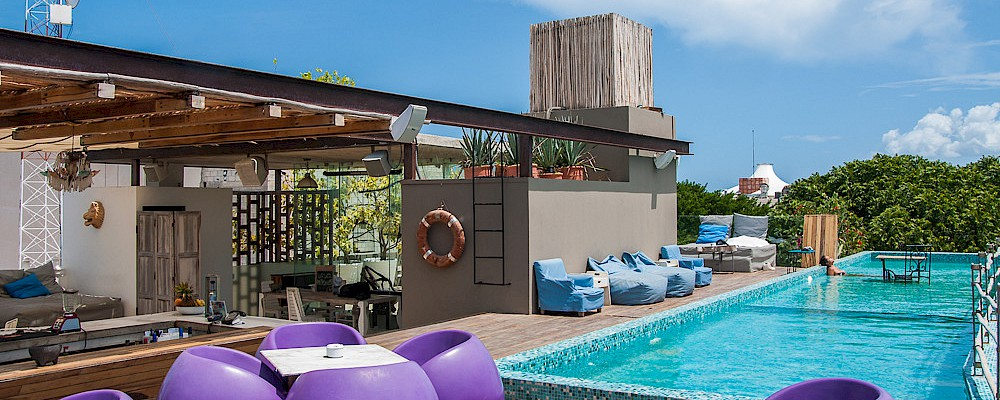 5 ROOFTOP POOLS TO SPEND THE DAY IN PLAYA DEL CARMEN