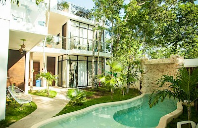 Tulum Real Estate Listing | Boutique Tulum B&B condo building