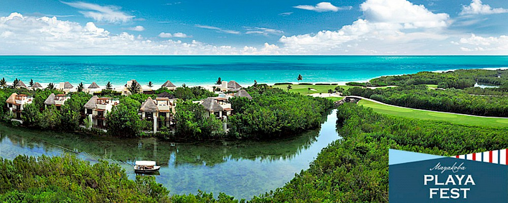 Mayakoba Playa Fest: Stand Up Paddle Meets Haute Cuisine and Patron Tequila