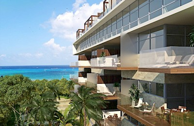 Playa Del Carmen Real Estate Listing | Cruz con Mar 2 Bedrooms