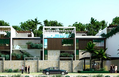 Playa Del Carmen Real Estate Listing | Mareas Condos Tulum 2 Bedrooms