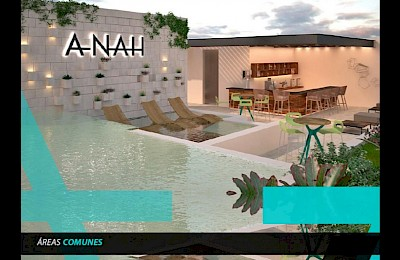 Playa Del Carmen Real Estate Listing | Anah La Quinta 2 Bedrooms