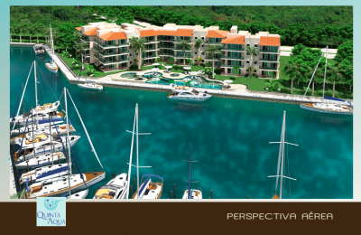 Puerto Aventuras Real Estate Listing | Quintas Aqua 3 Bedrooms