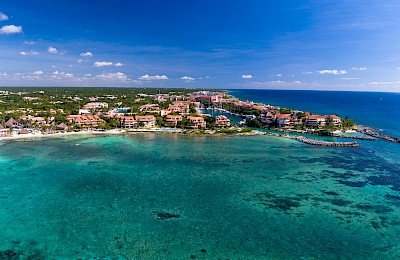 Puerto Aventuras Real Estate Listing | Lagoon Land Lot