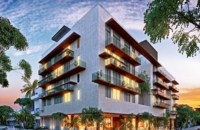 Playa Del Carmen Real Estate Listing | Singular 3 Bedrooms