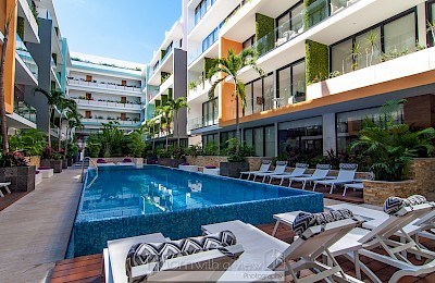 Playa Del Carmen Real Estate Listing | The City 1 Bed 202K