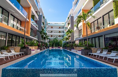 Playa Del Carmen Real Estate Listing | The City 2 Bed $321,500