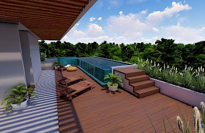 Tulum Real Estate Listing | Heaven Condos Tulum 3 Beds