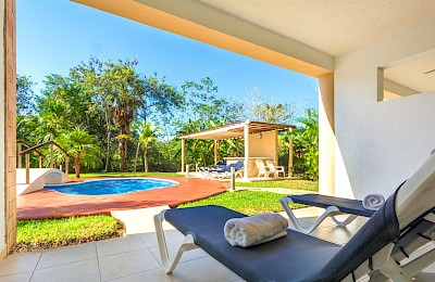 Puerto Aventuras Real Estate Listing | The Palms 2 Bedrooms