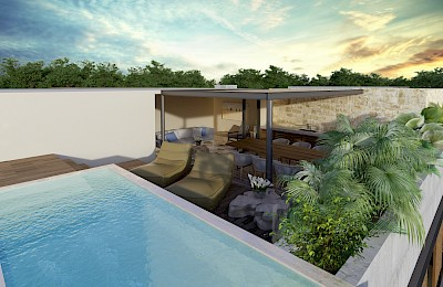 Tulum Real Estate Listing | Sundara Tulum 2 Bedrooms