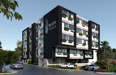 Playa Del Carmen Real Estate Listing | Black Tower Duplex