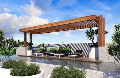 Playa Del Carmen Real Estate Listing | Black Tower Commercial Space
