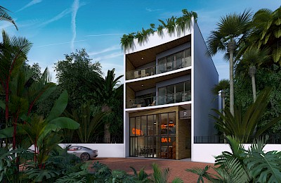 Tulum Real Estate Listing | Azalea Commercial Space