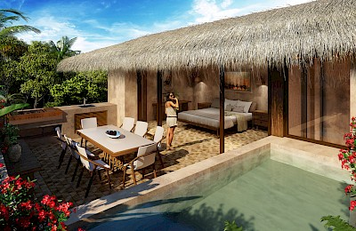 Tulum Real Estate Listing | Santomar 3 Bed PH