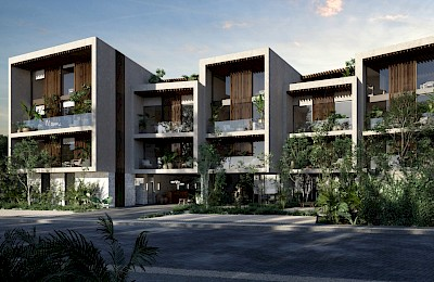 Tulum Real Estate Listing | Pure Condos 3 Bedrooms
