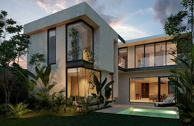 Tulum Real Estate Listing | Pure Houses 2 Bedrooms
