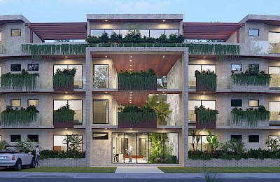 Akumal Real Estate Listing | Seasun Luxury Condos 3 Bedrooms