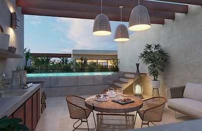 Akumal Real Estate Listing | Seasun Luxury  Penthouse