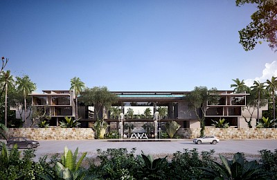 Playacar Real Estate Listing | AWA Playacar Phase II 3 bed PH